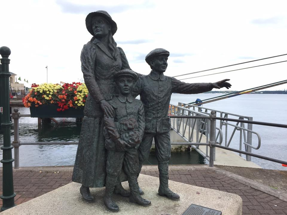 Annie Moore, Cobh, Ireland by Kevin Nansett for The Doubtful Traveller