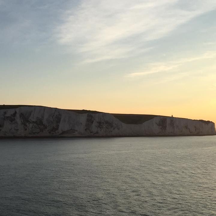 White Cliffs of Dover, England by Kevin Nansett for The Doubtful Traveller