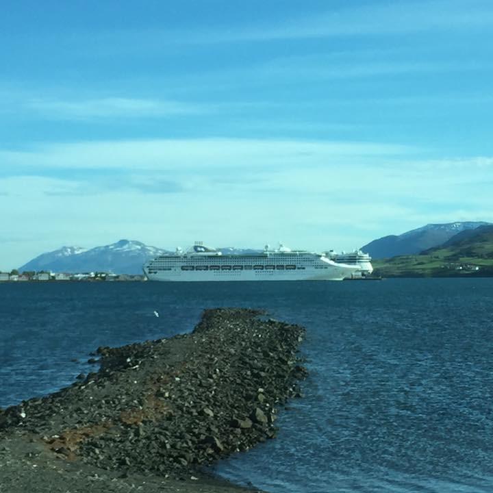 Akureyri, Iceland by Kevin Nansett for The Doubtful Traveller