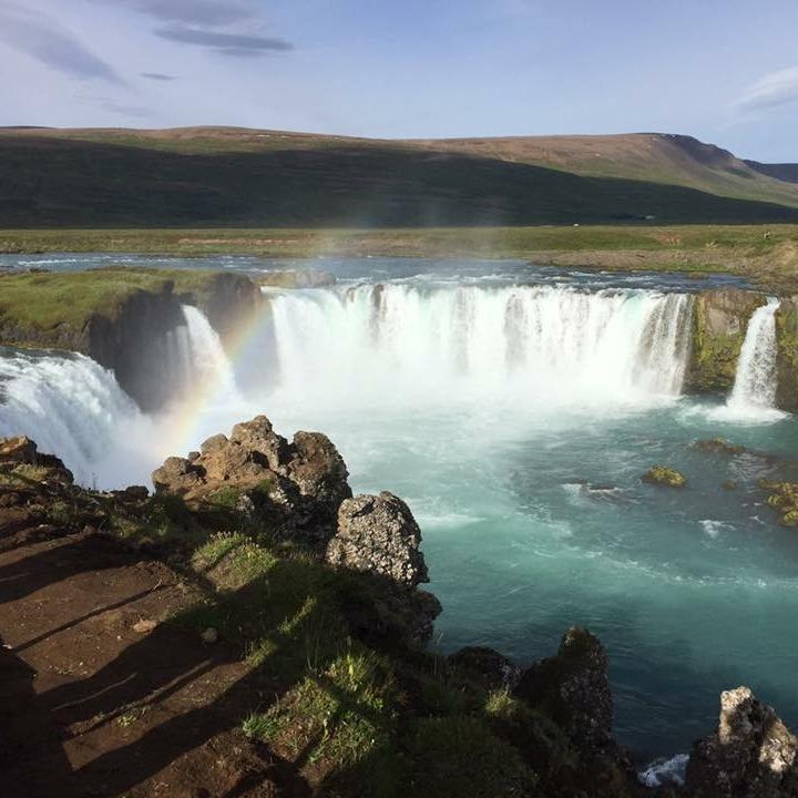 Godafoss, Iceland by Kevin Nansett for The Doubtful Traveller