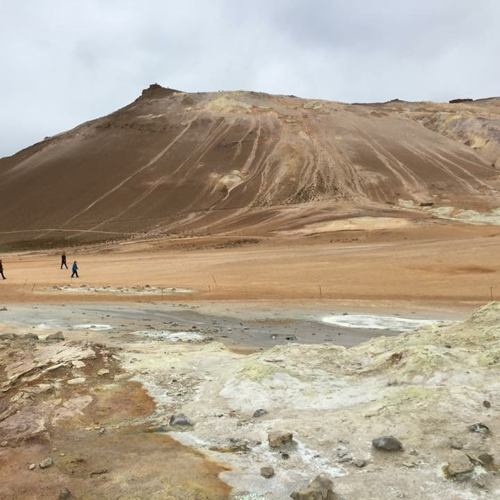 Namafjall, Iceland by Kevin Nansett for The Doubtful Traveller