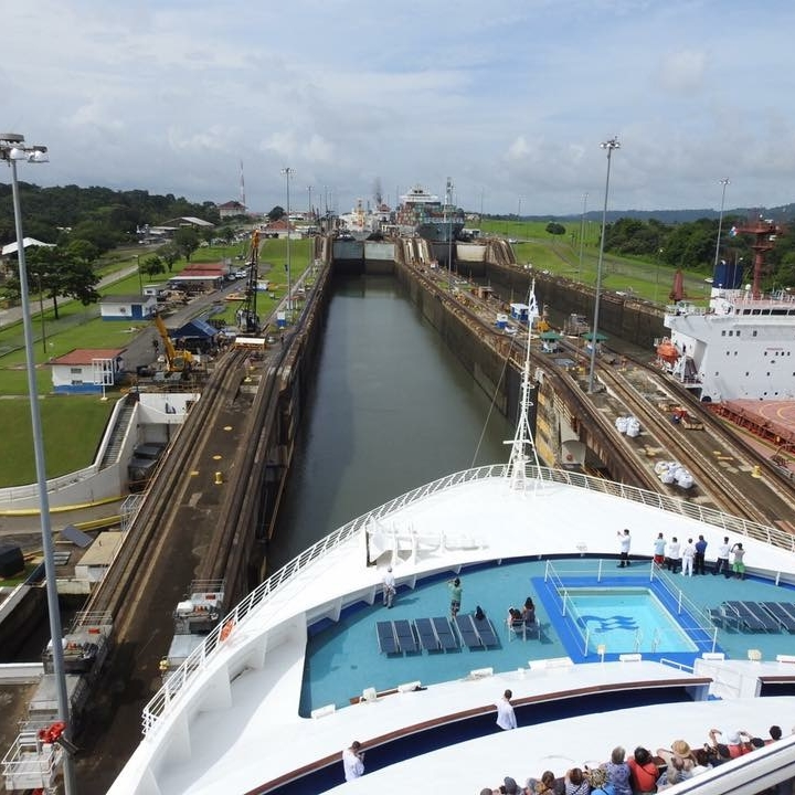 Panama Canal by Kevin Nansett for The Doubtful Traveller