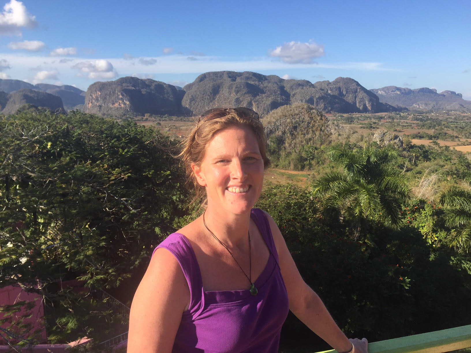 Eleanor Currier - Pictured in Cuba. She travels anywhere and everywhere. You can read about her adventures in Havana hereand in New York here.