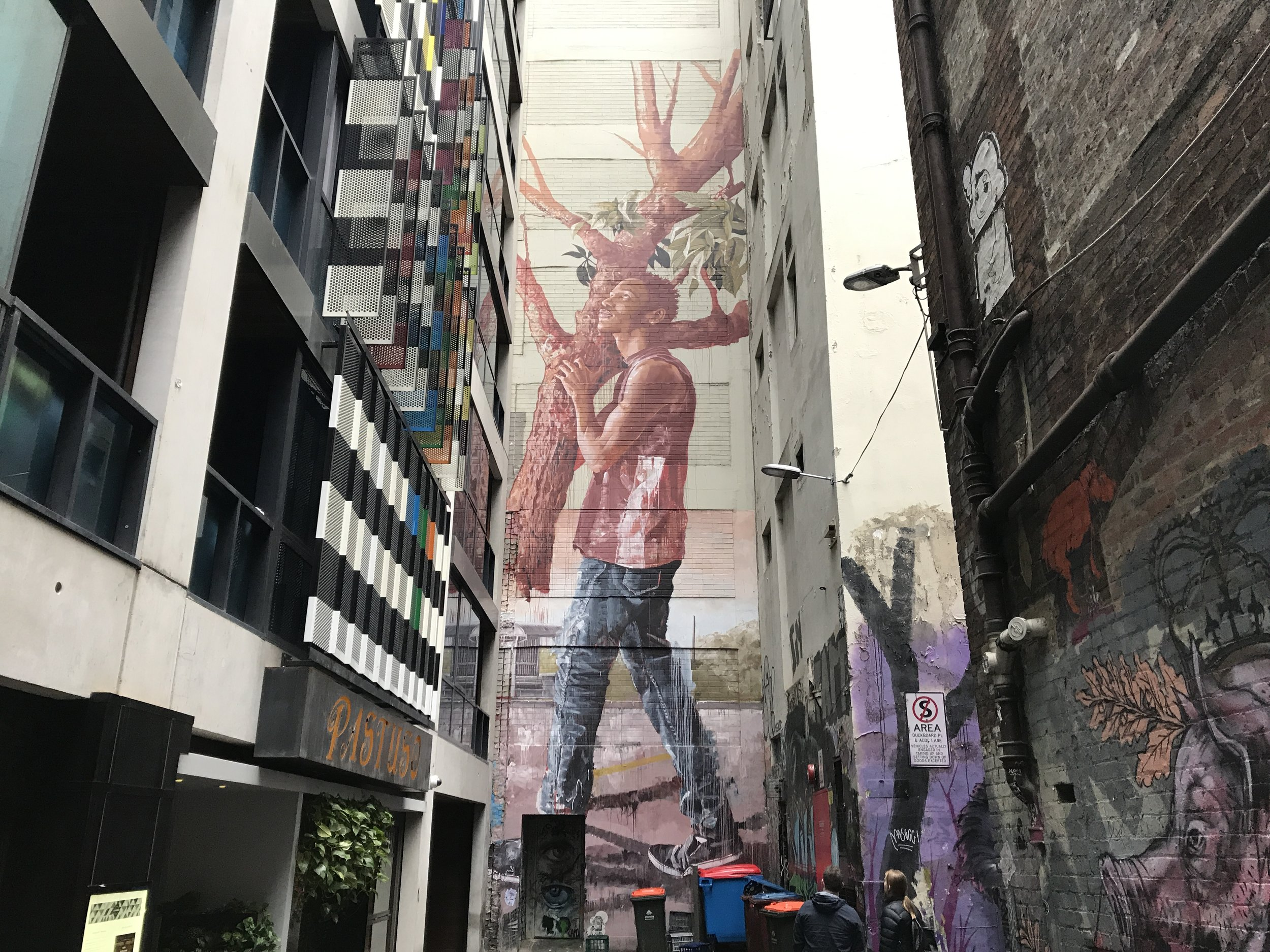 Melbourne street art by The Doubtful Traveller
