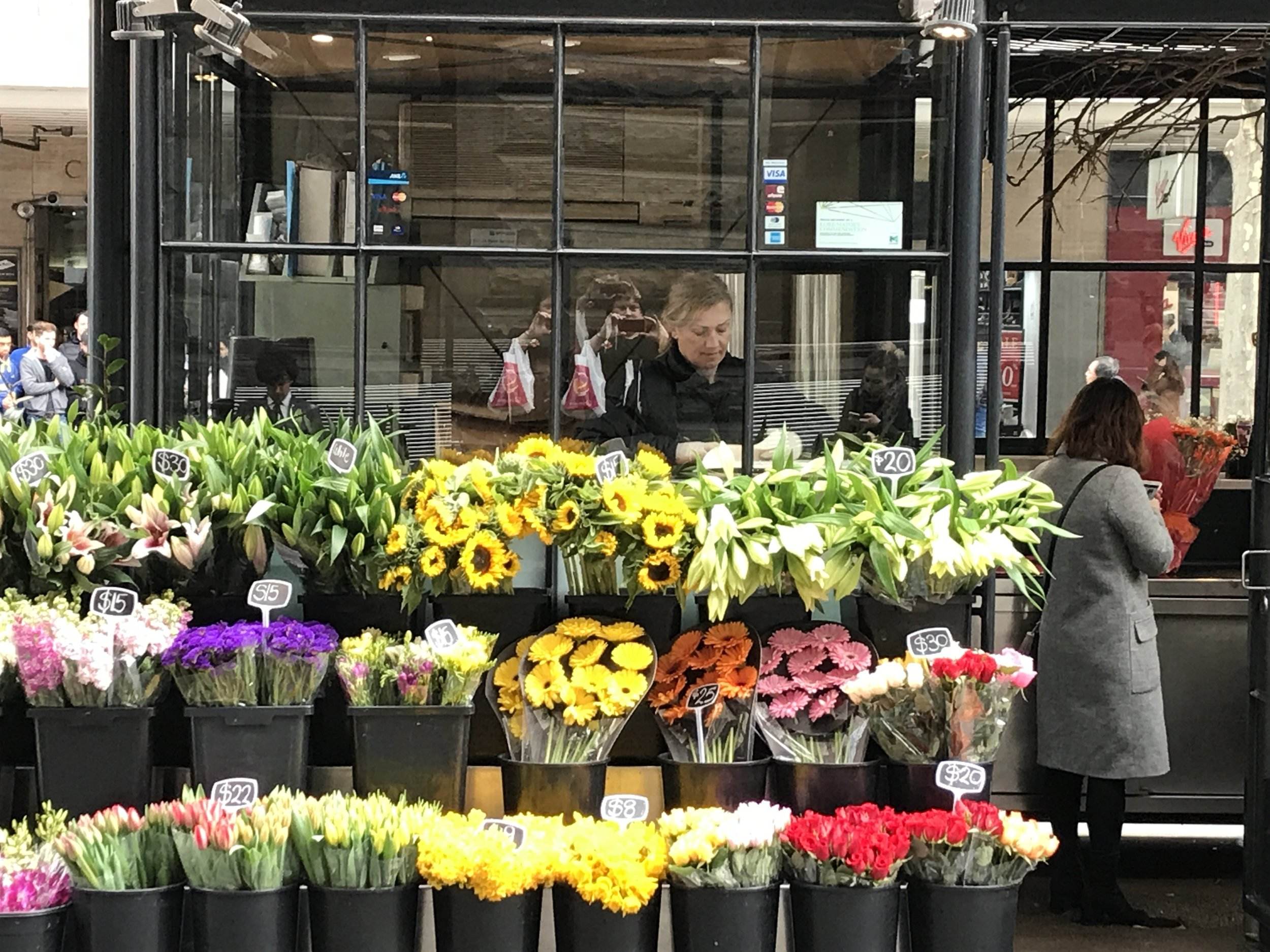 Flower seller Melbourne by The Doubtful Traveller