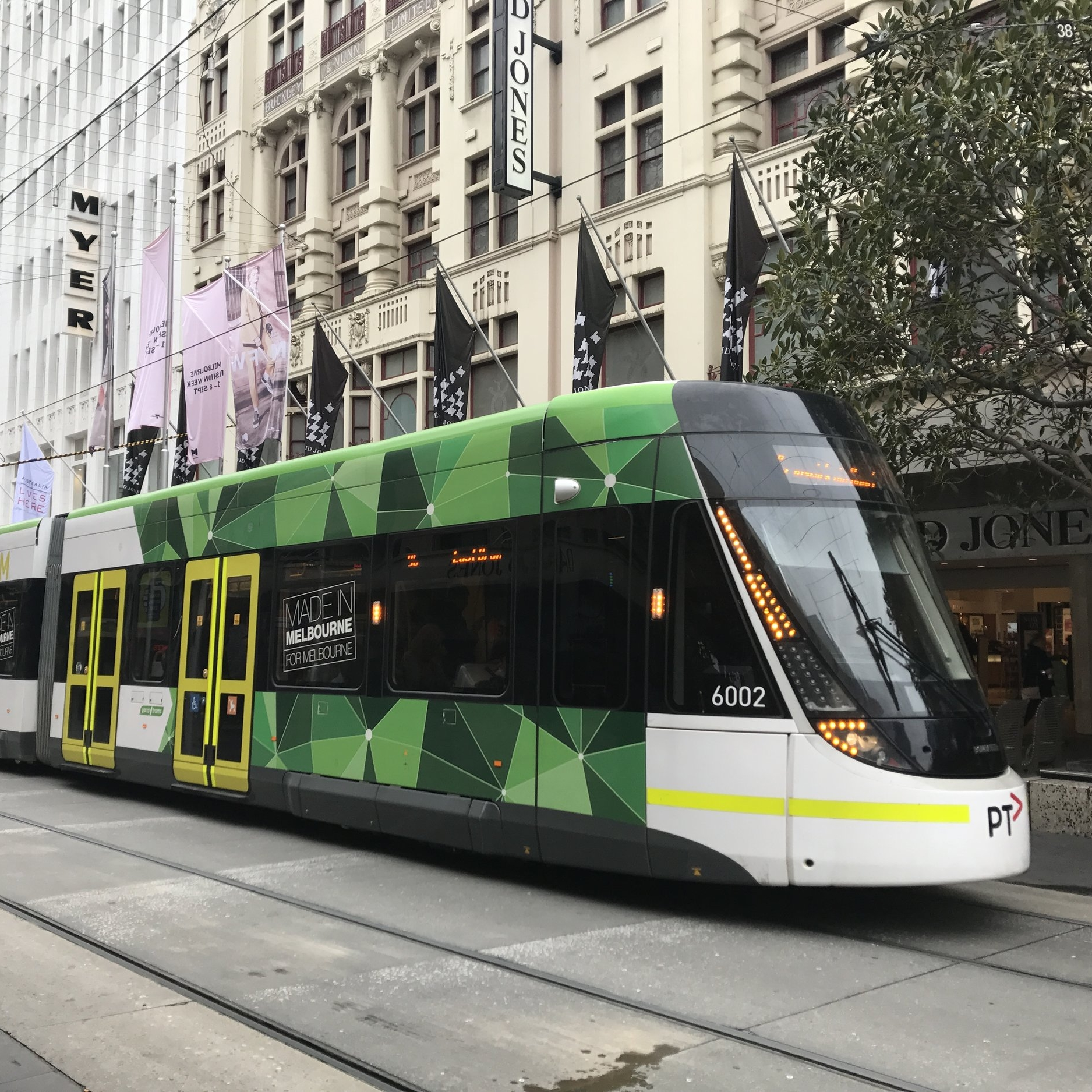 Melbourne tram by The Doubtful Traveller