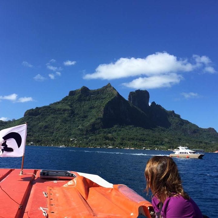 Bora Bora by Kevin Nansett for The Doubtful Traveller