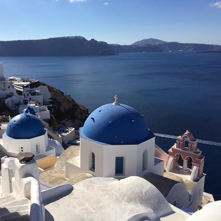 Santorini by Kevin Nansett for The Doubtful Traveller