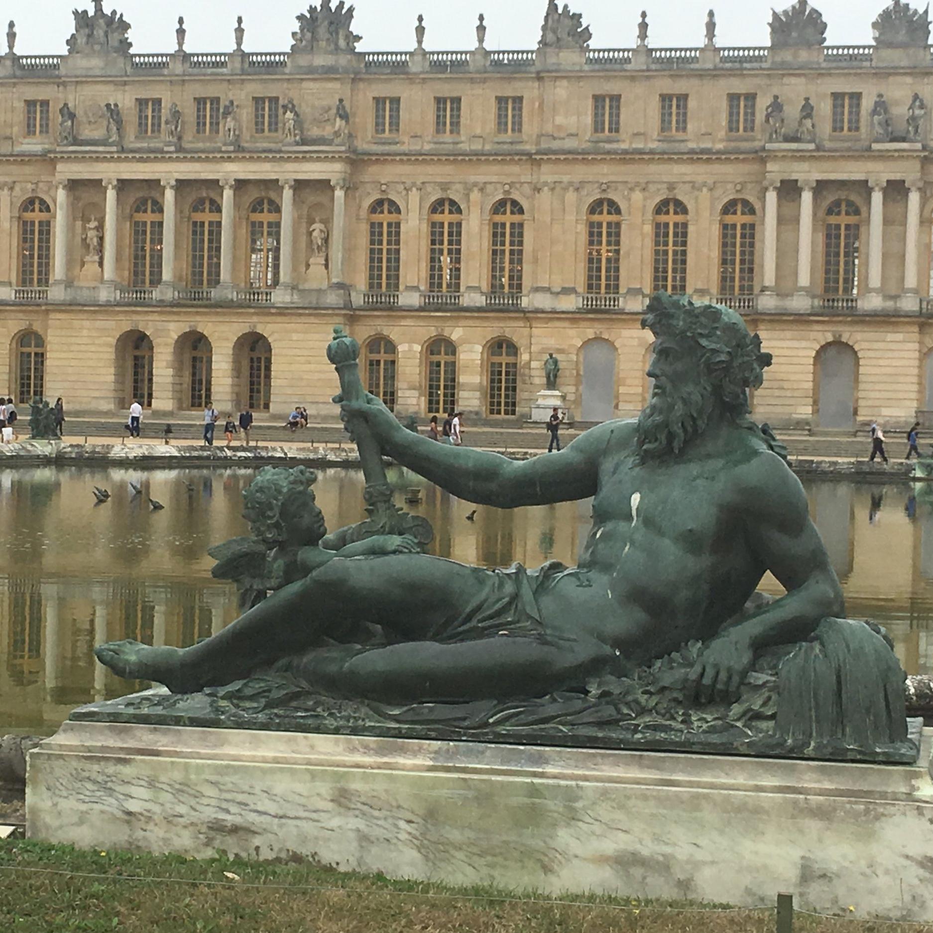 Versailles near Paris by The Doubtful Traveller
