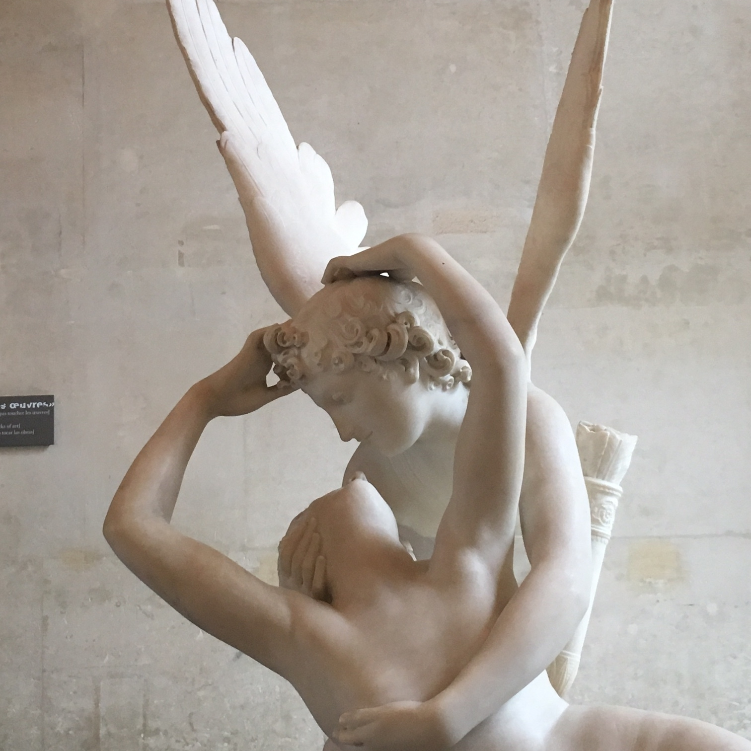 Sculpture at the Louvre, Paris by The Doubtful Traveller