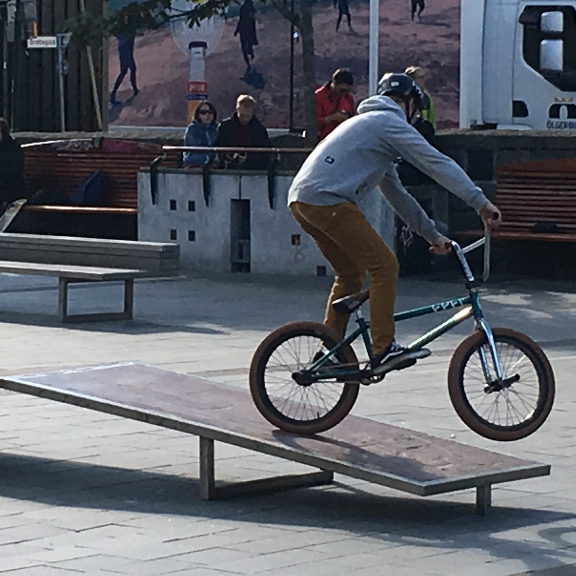 BMXing, Reykjavik by The Doubtful Traveller