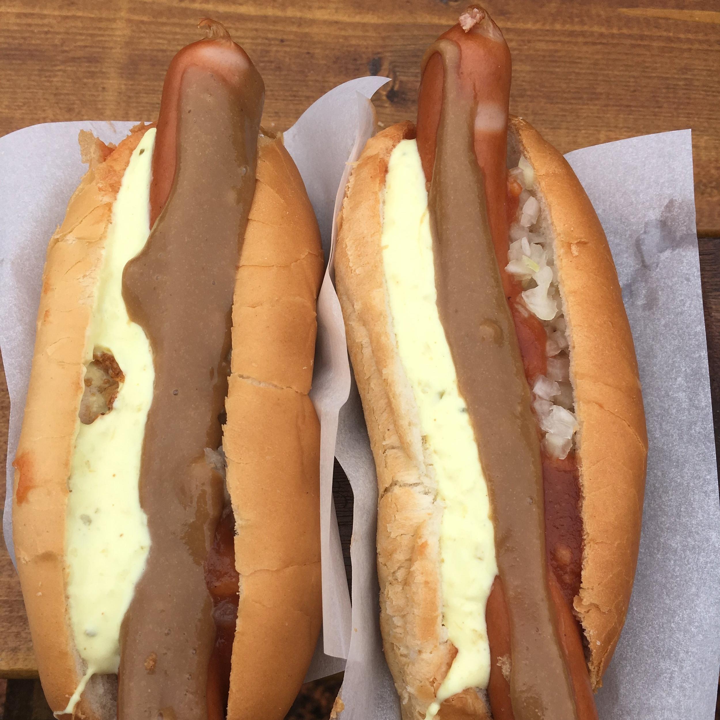 Hot dogs, Reykjavik by The Doubtful Traveller