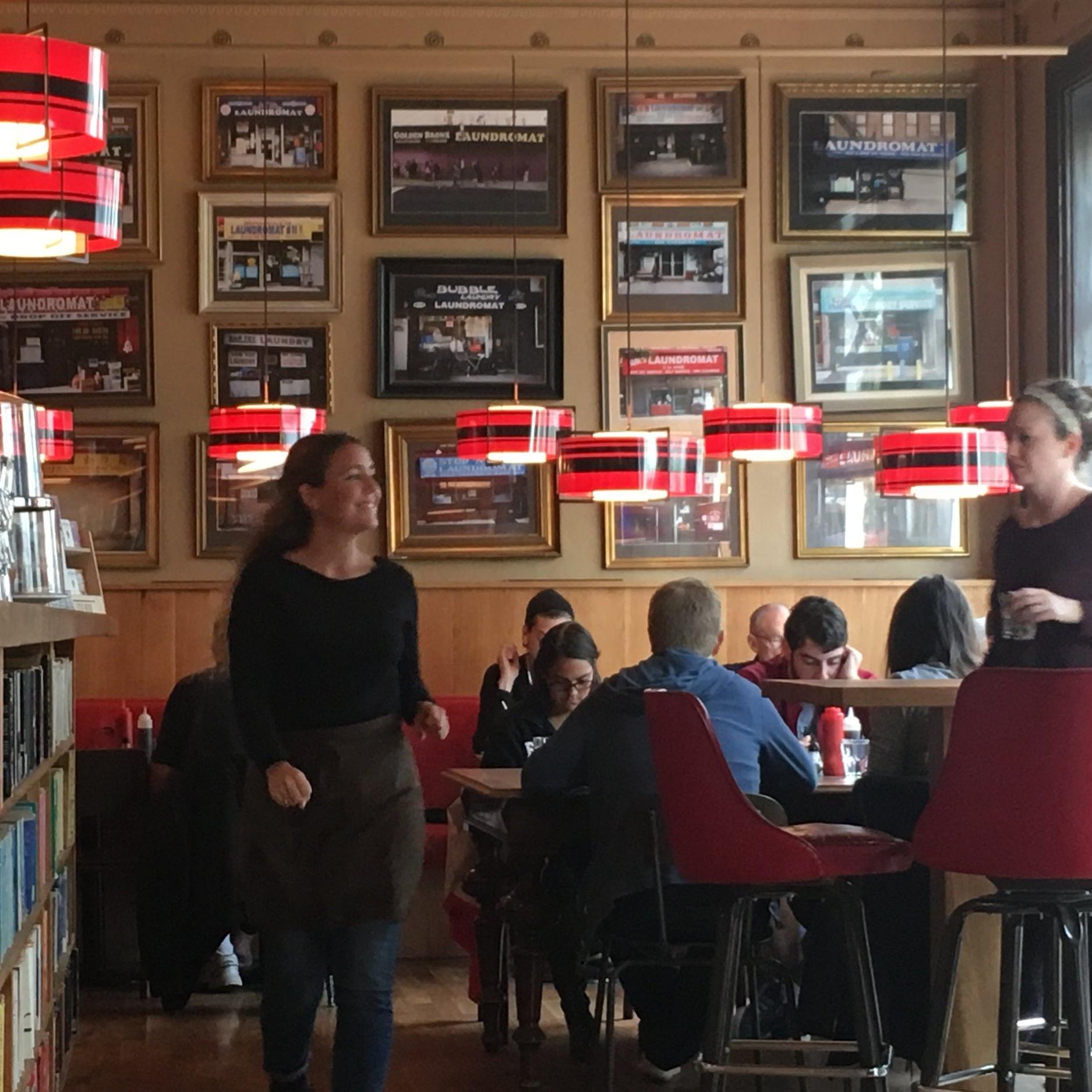 Laundromat, Reykjavik by The Doubtful Traveller