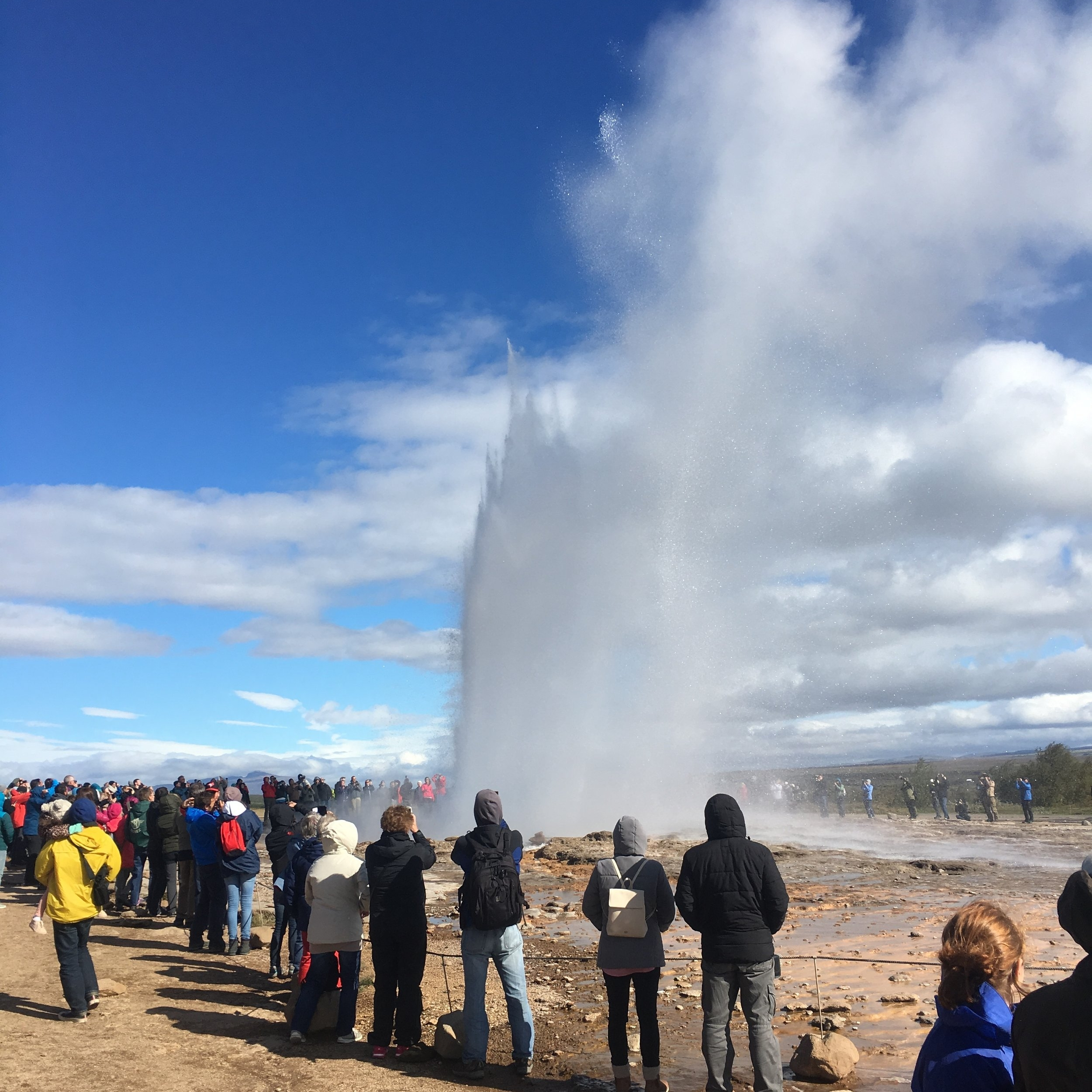 Geysir, Iceland by The Doubtful Traveller