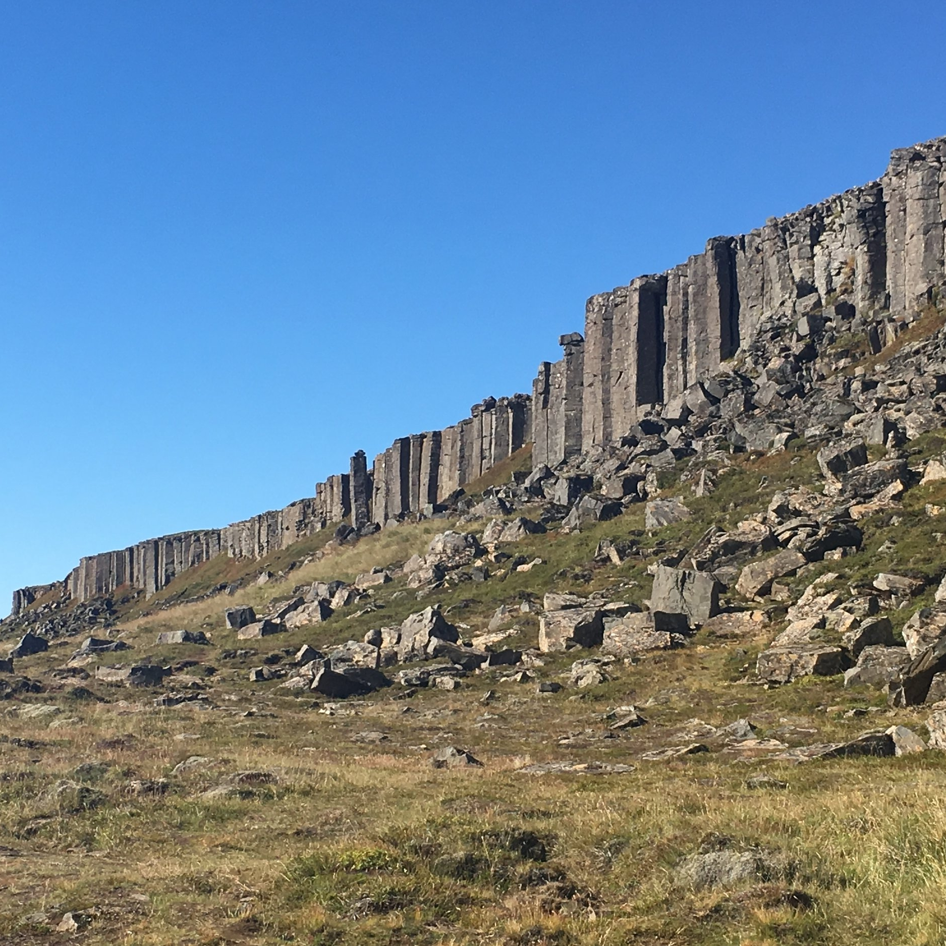 Basalt columns, Iceland by The Doubtful Traveller