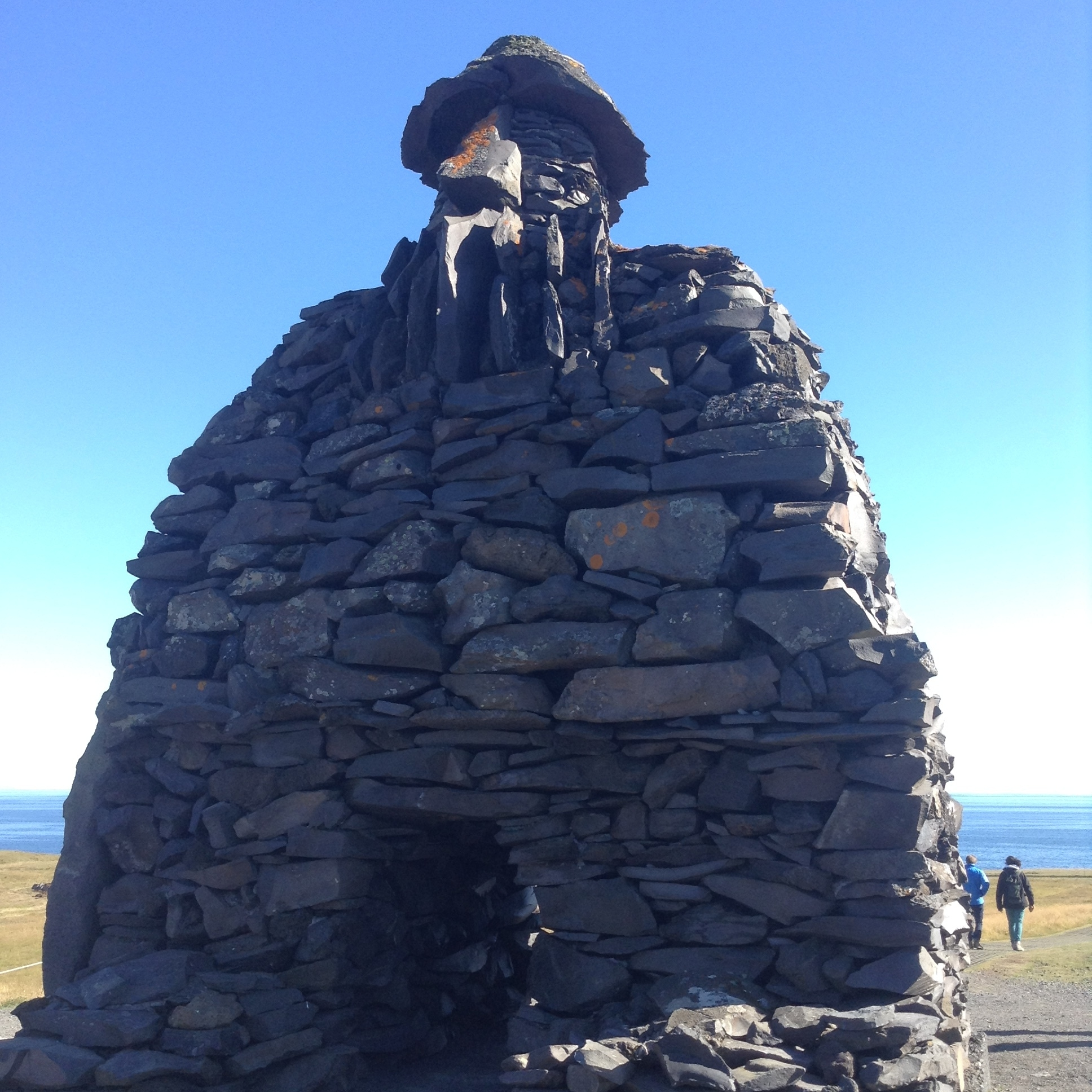 Bardur statue, Iceland by The Doubtful Traveller