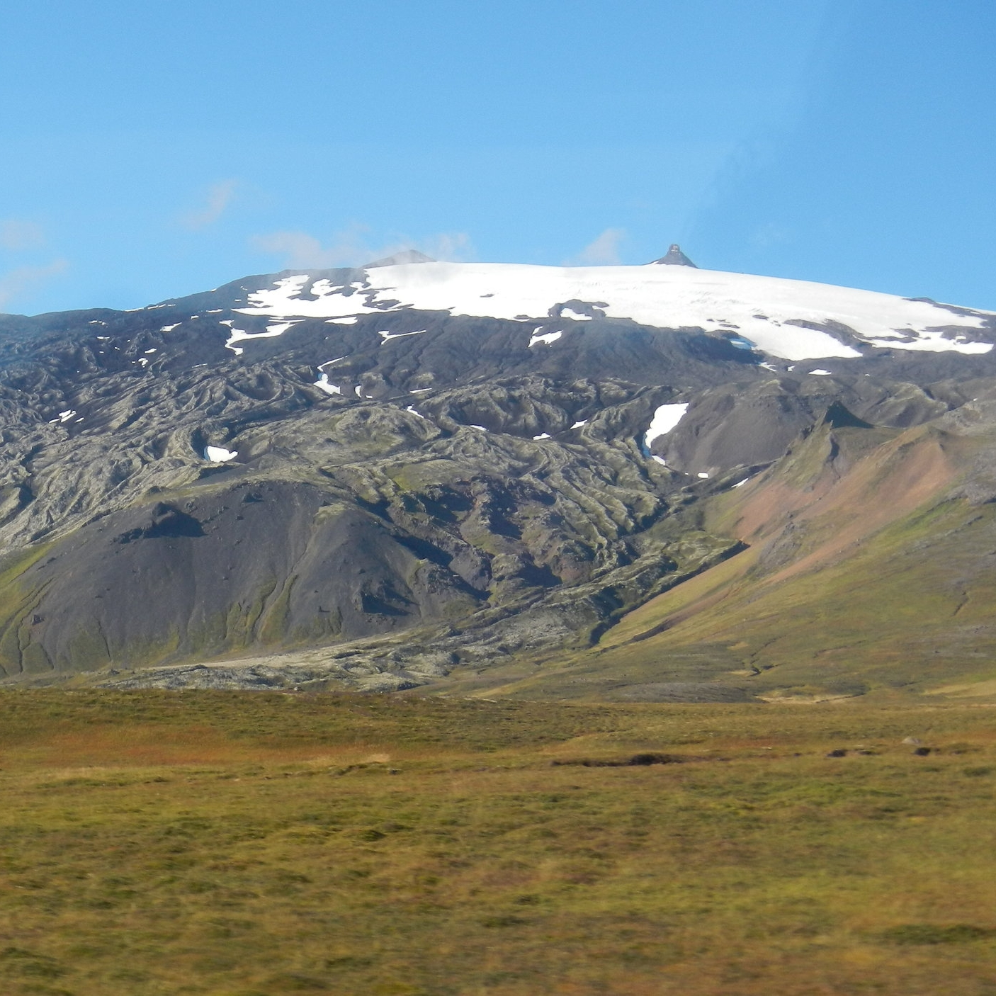 Snaefellsnes glacier, Iceland by The Doubtful Traveller