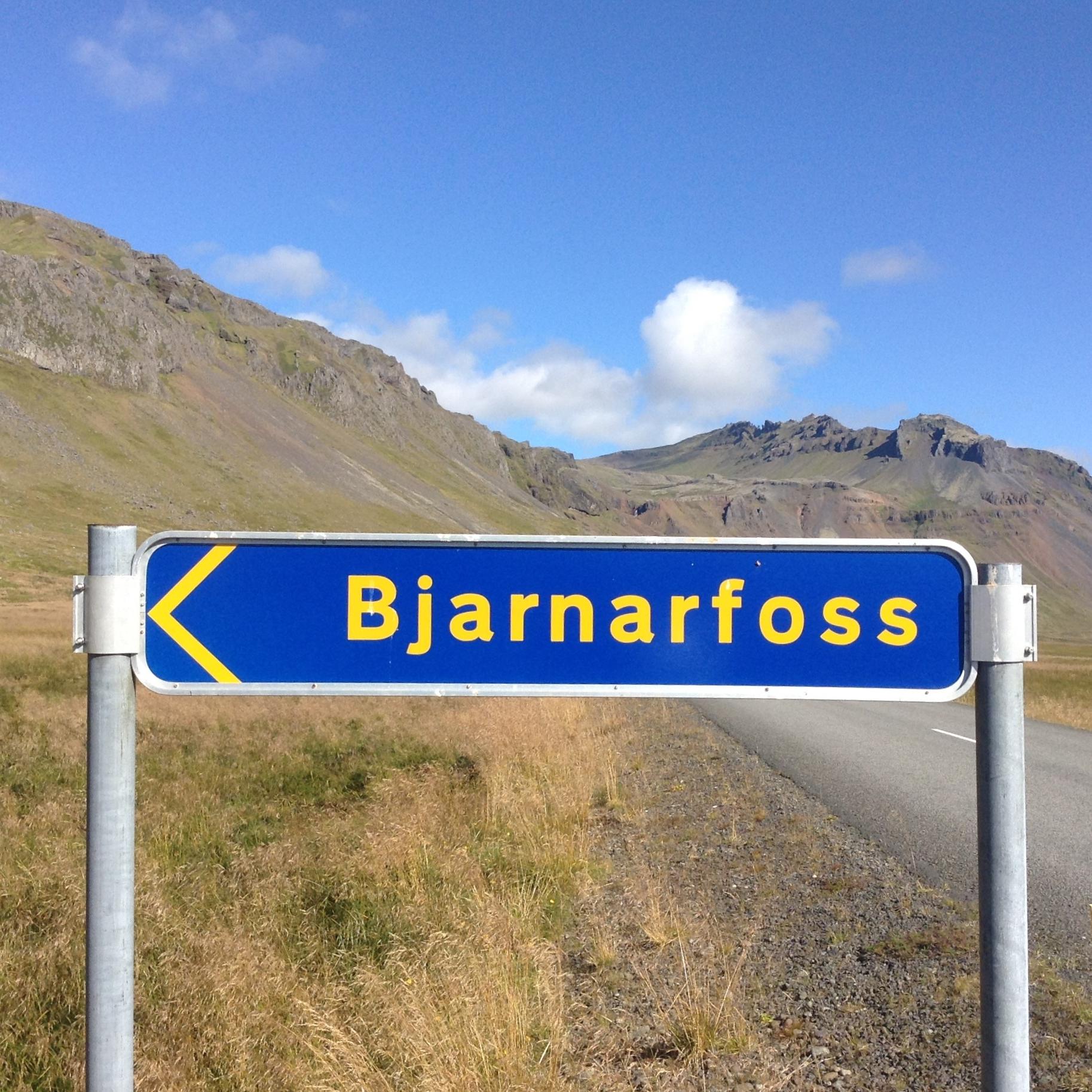 Bjarnarfoss, Iceland by The Doubtful Traveller