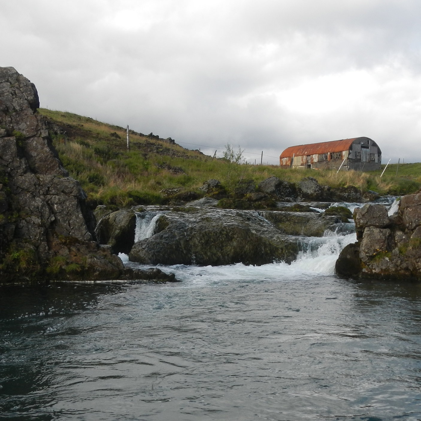 Fly fishing, Iceland by The Doubtful Traveller