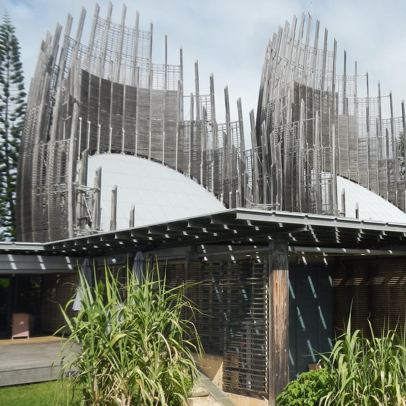 Centre Cuturel Jean-Marie Tjibaou, Noumea by The Doubtful Traveller