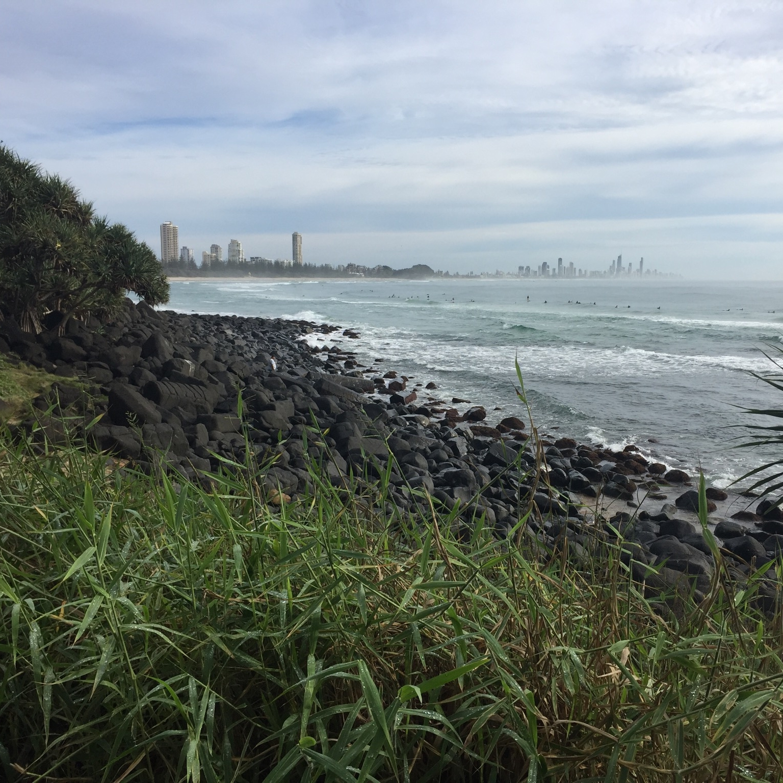 Burleigh Heads, Surfer's Paradise by Miles Dean for The Doubtful Traveller