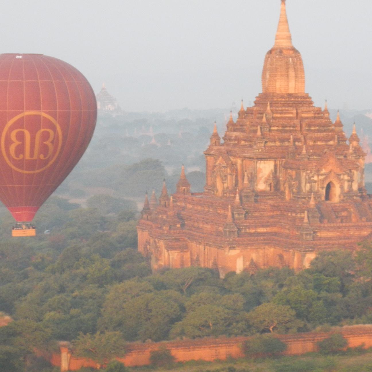 Balloons over Bagan, Myanmar (Burma) by The Doubtful Traveller