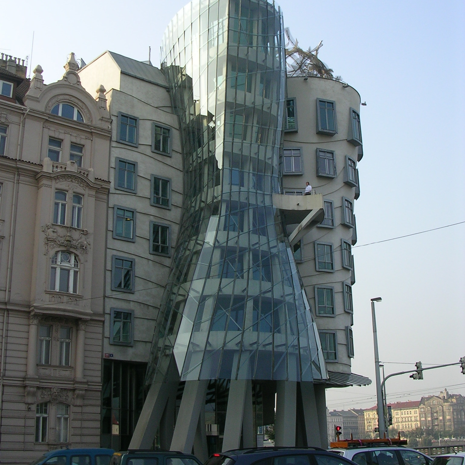 Dancing House, Prague by The Doubtful Traveller