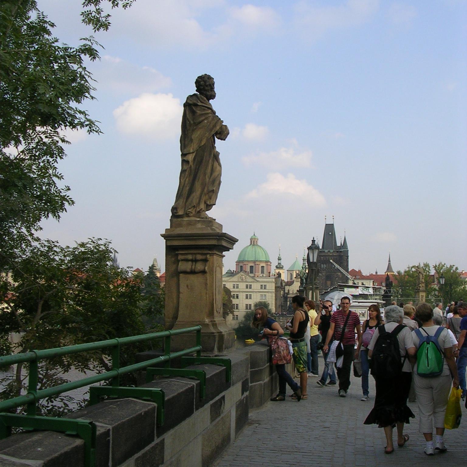 Charles Bridge, Prague by The Doubtful Traveller