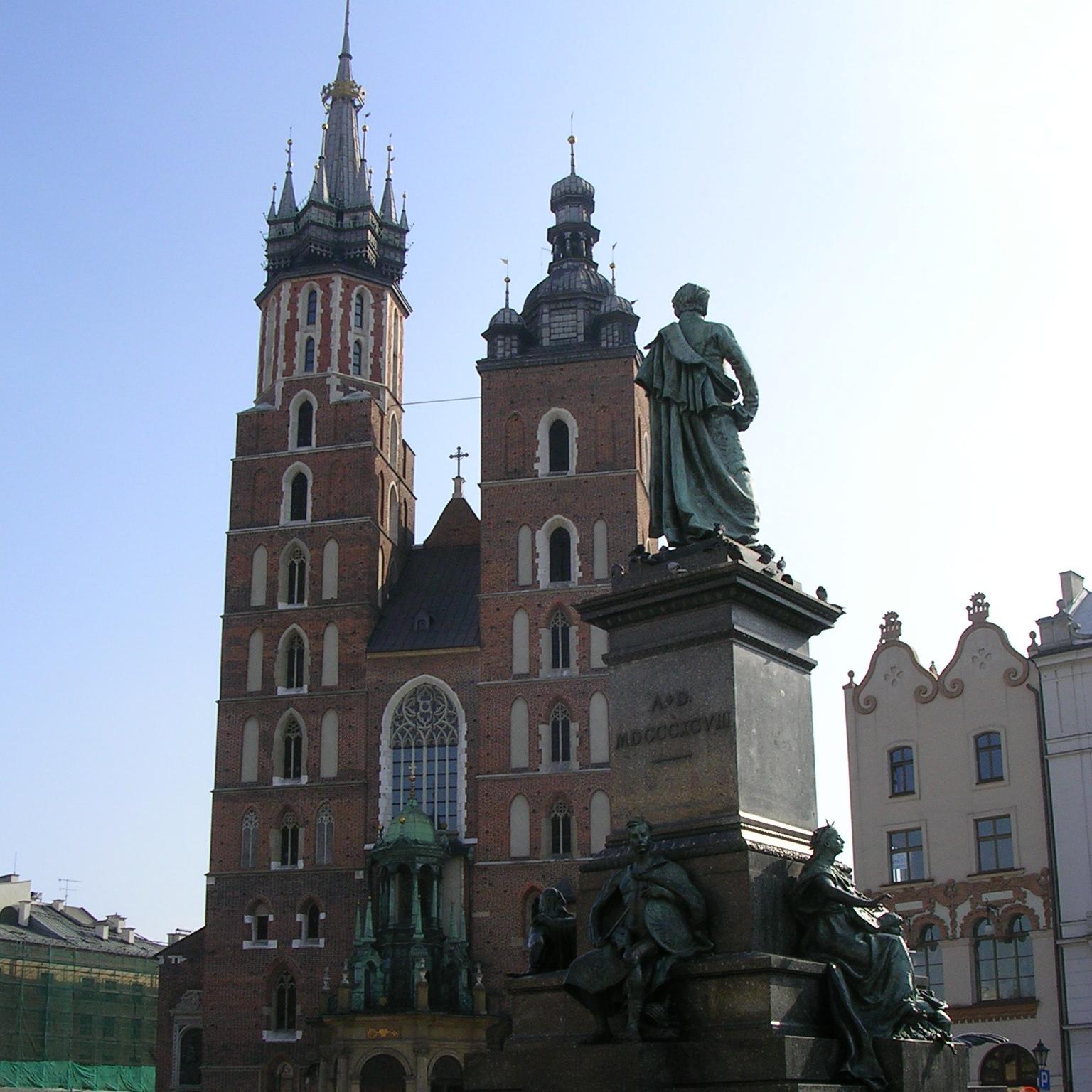 St Mary's, Krakow by The Doubtful Traveller