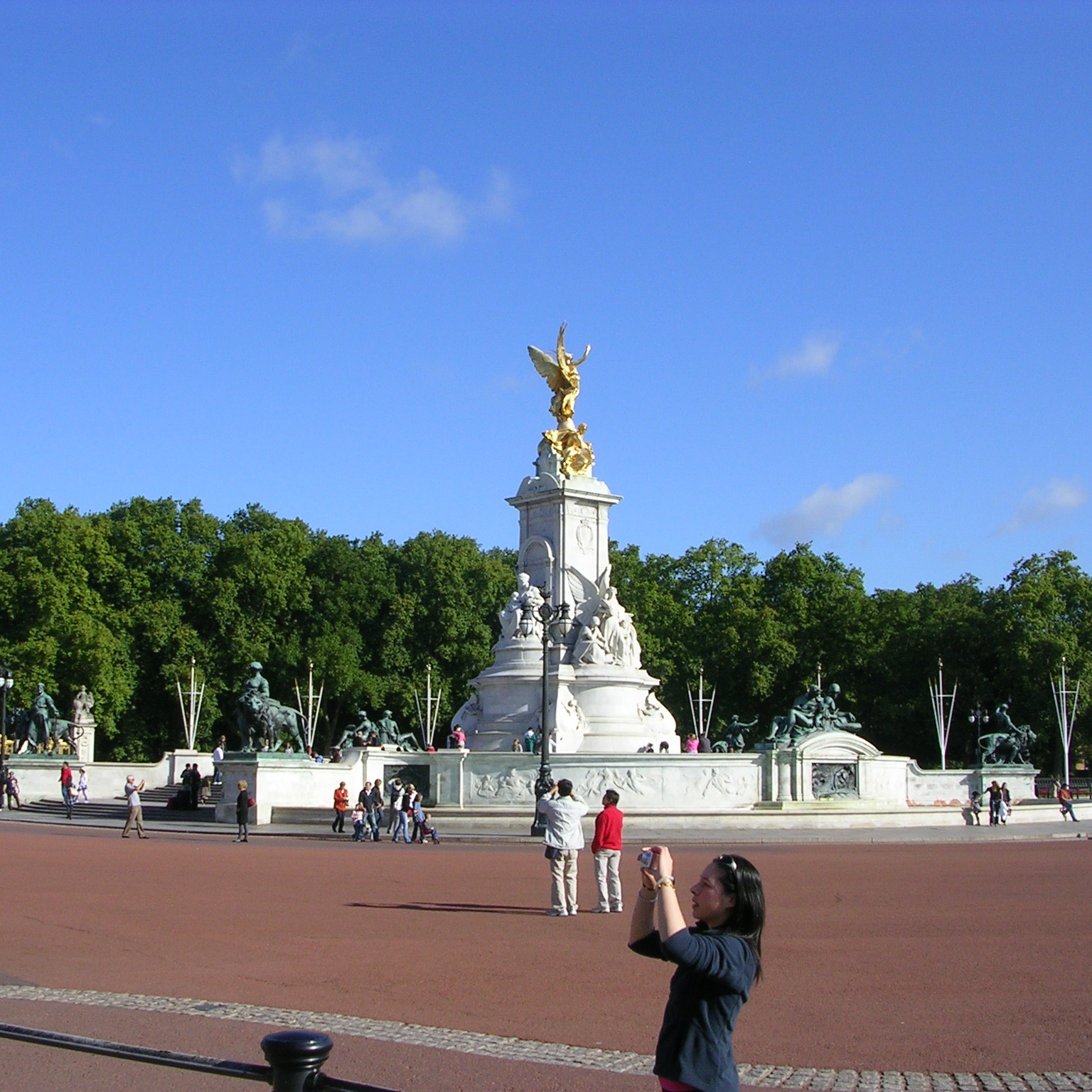 Top of the Mall, London by The Doubtful Traveller