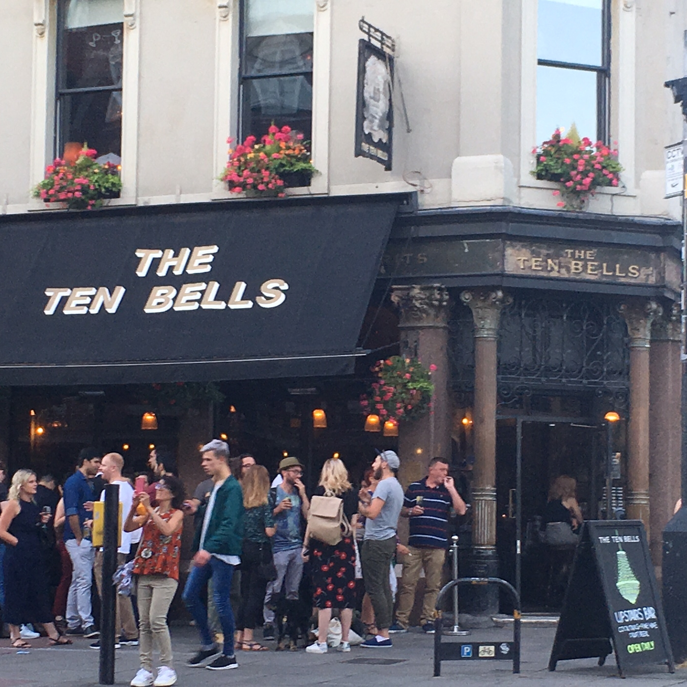 The Ten Bells pub, London by The Doubtful Traveller