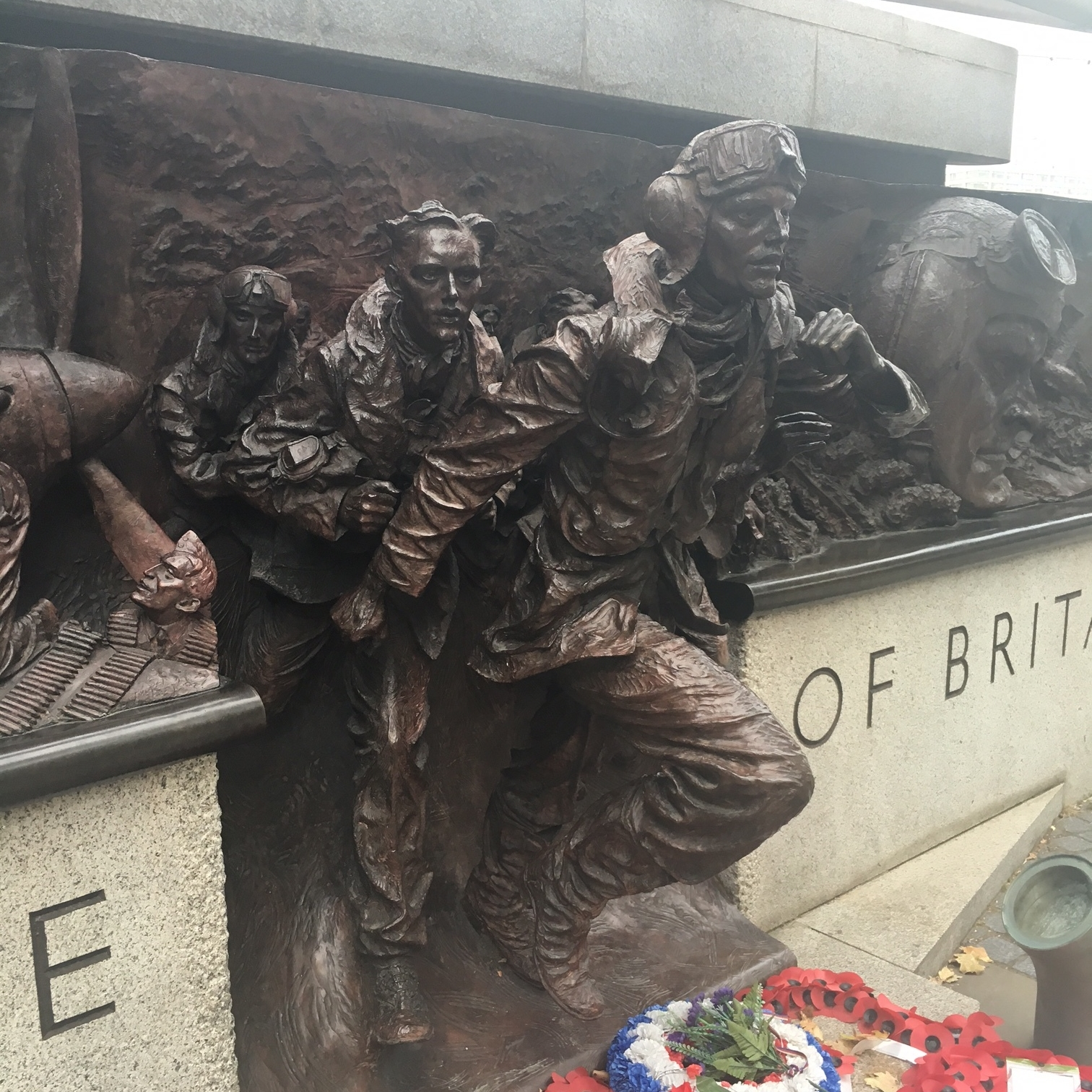 Battle of Britain memorial, London by The Doubtful Traveller