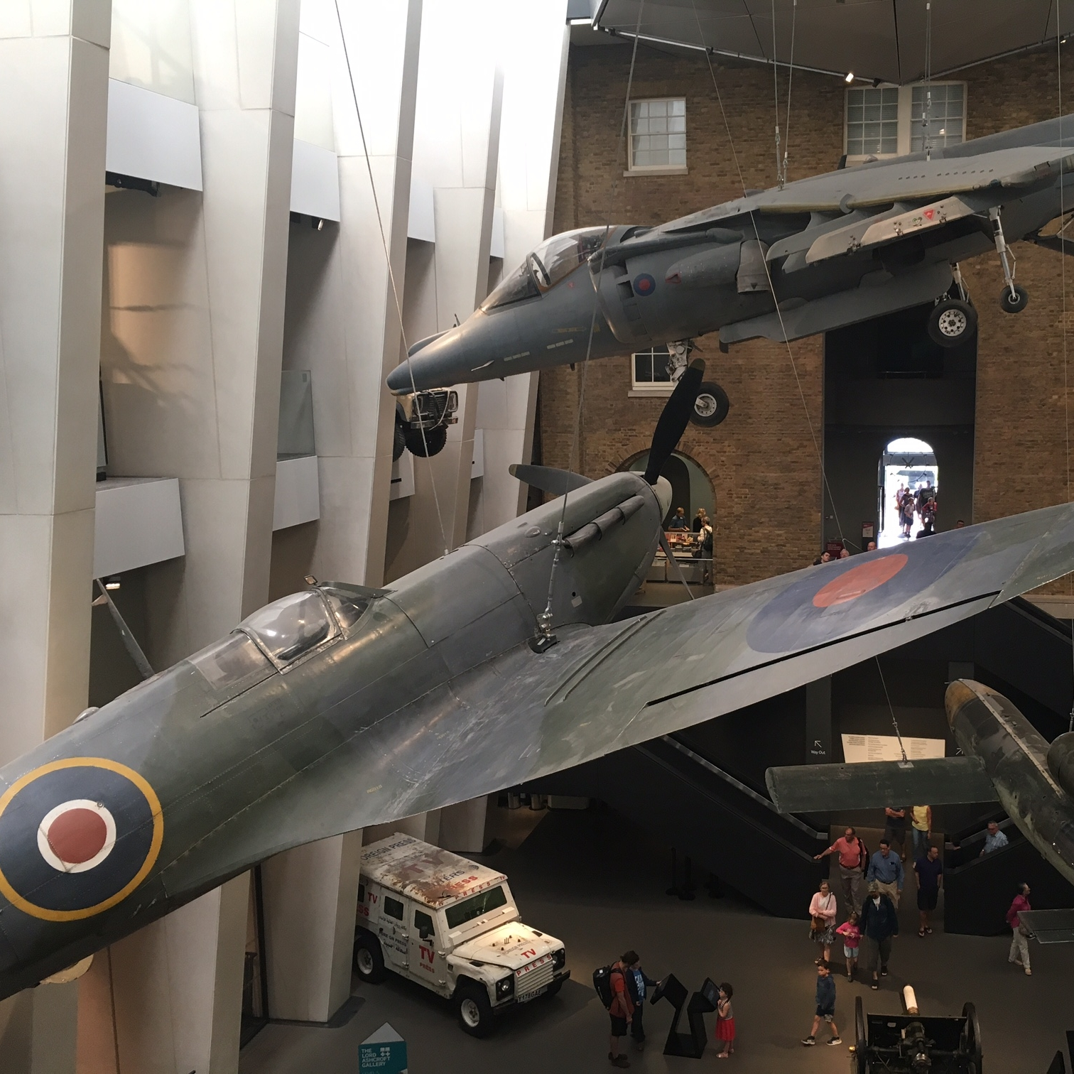Imperial War Museum, London by The Doubtful Traveller