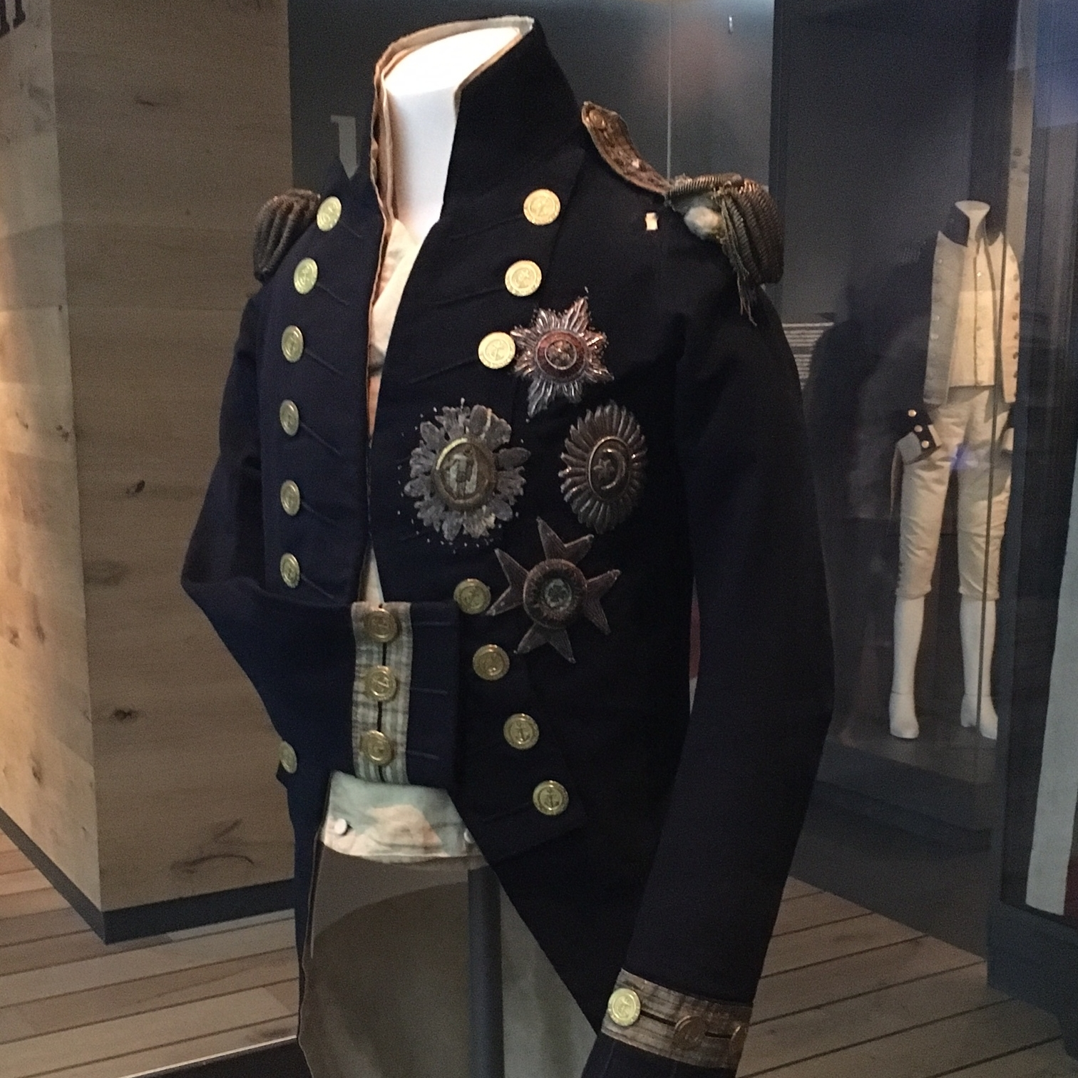Nelson's coat, Greenwich by The Doubtful Traveller