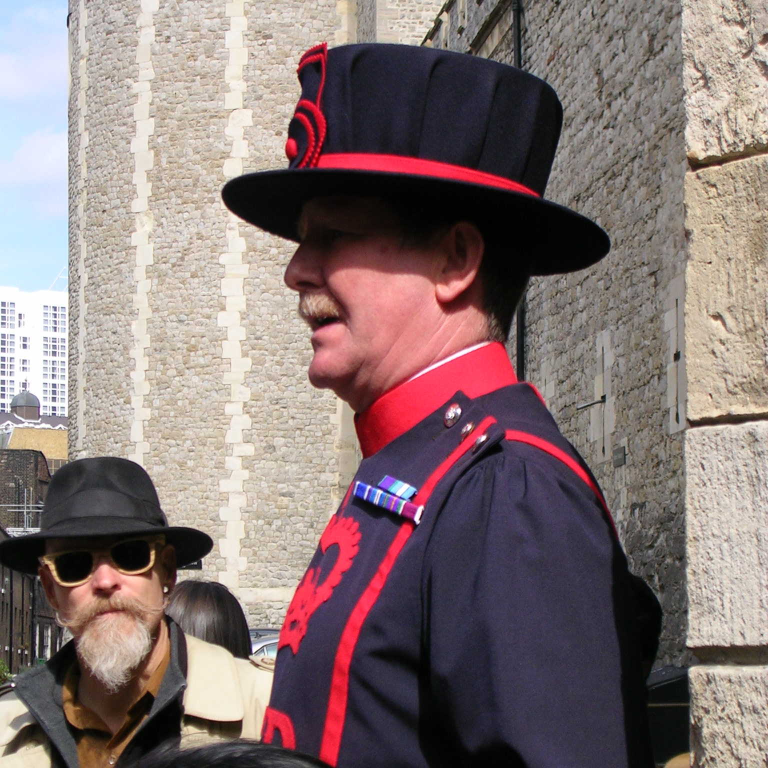 A Yeoman Warder (Beefeater) at the Tower of London by The Doubtful Traveller
