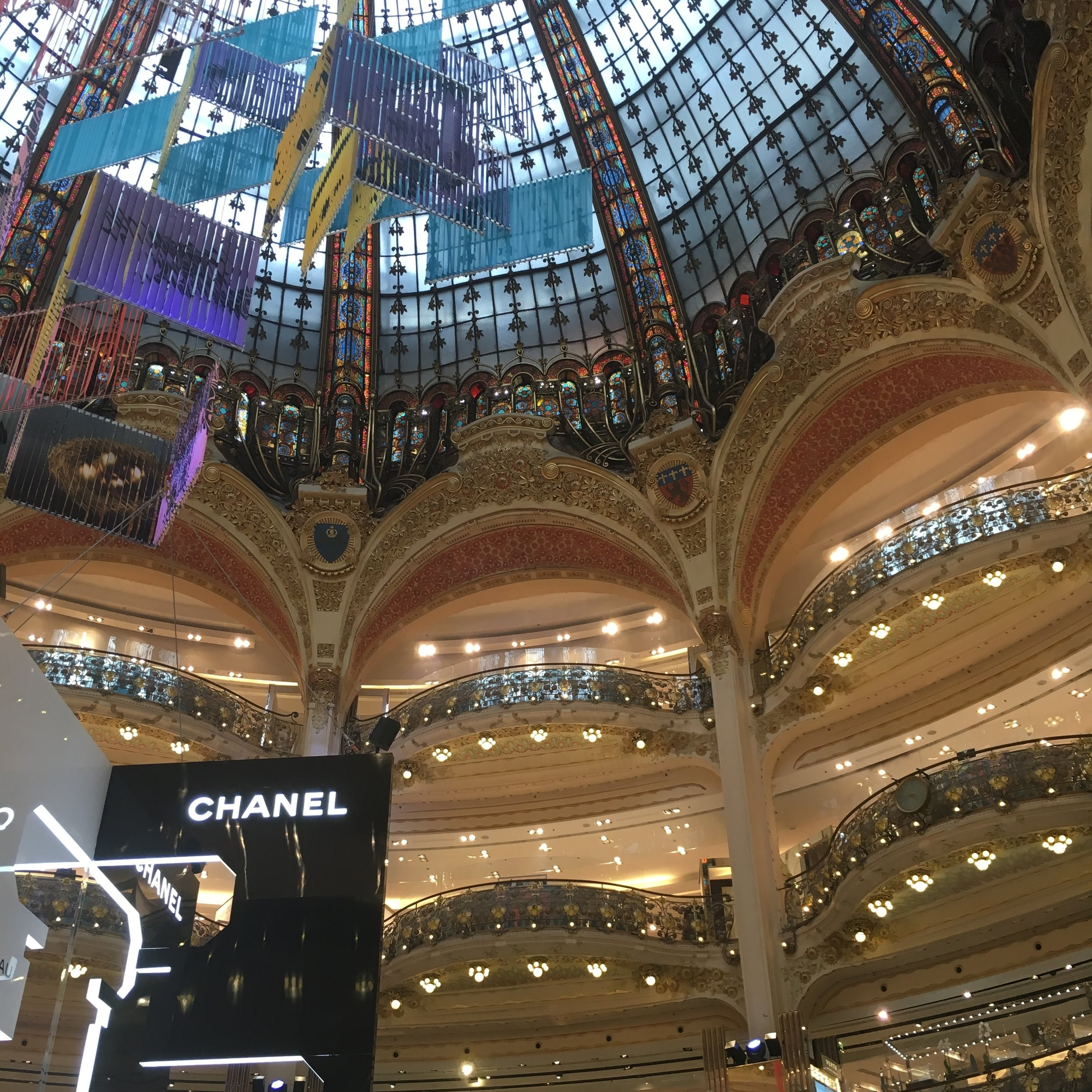 Galerie Lafayette, Paris by The Doubtful Traveller
