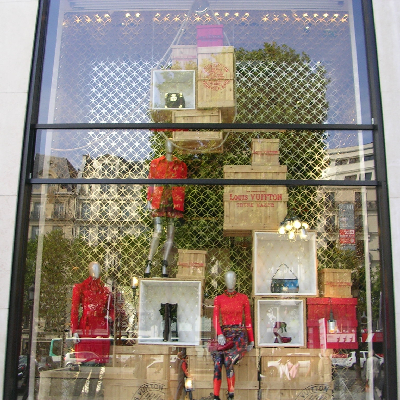 Louis Vuitton, Champs Elysee, Paris by The Doubtful Traveller
