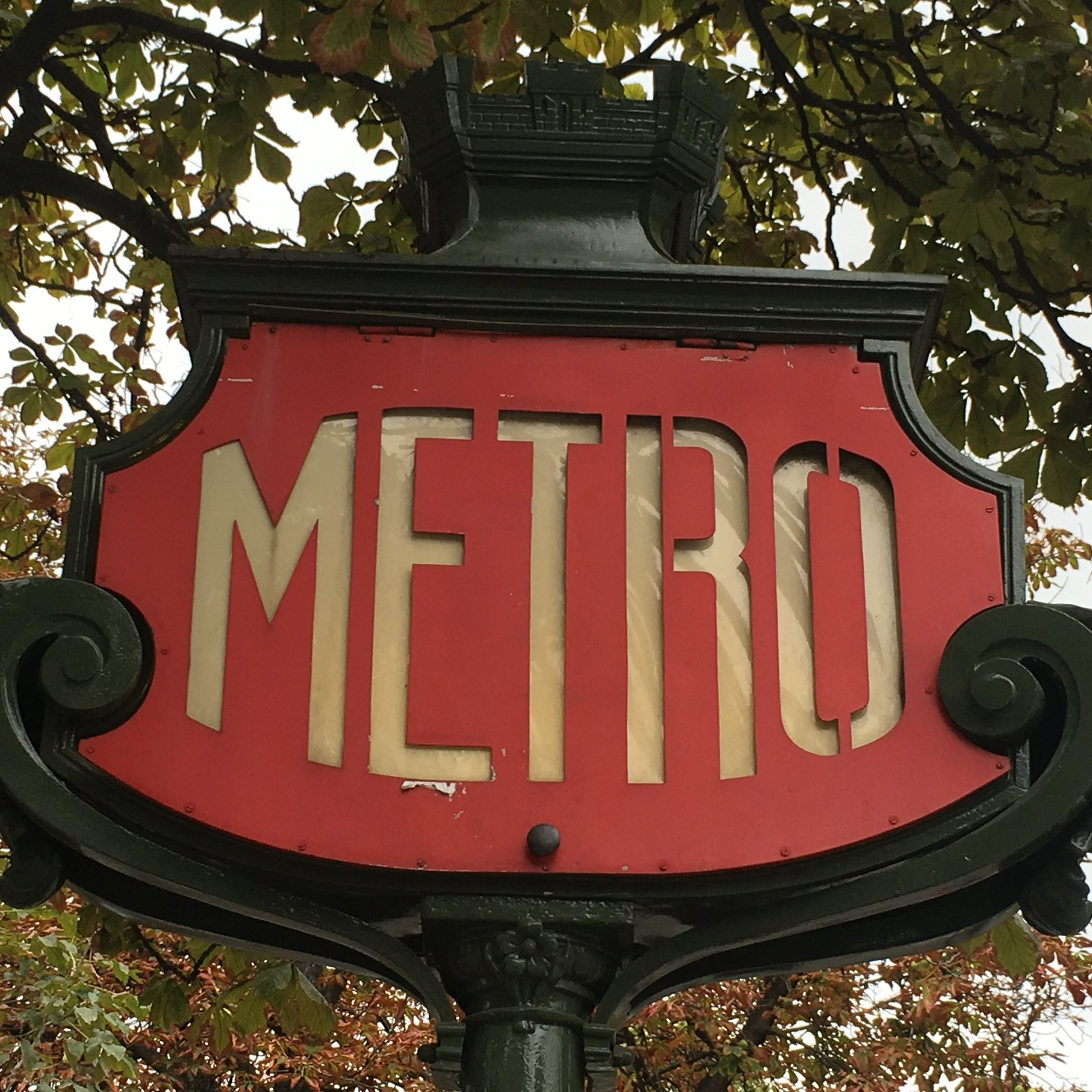 Metro, Paris by The Doubtful Traveller