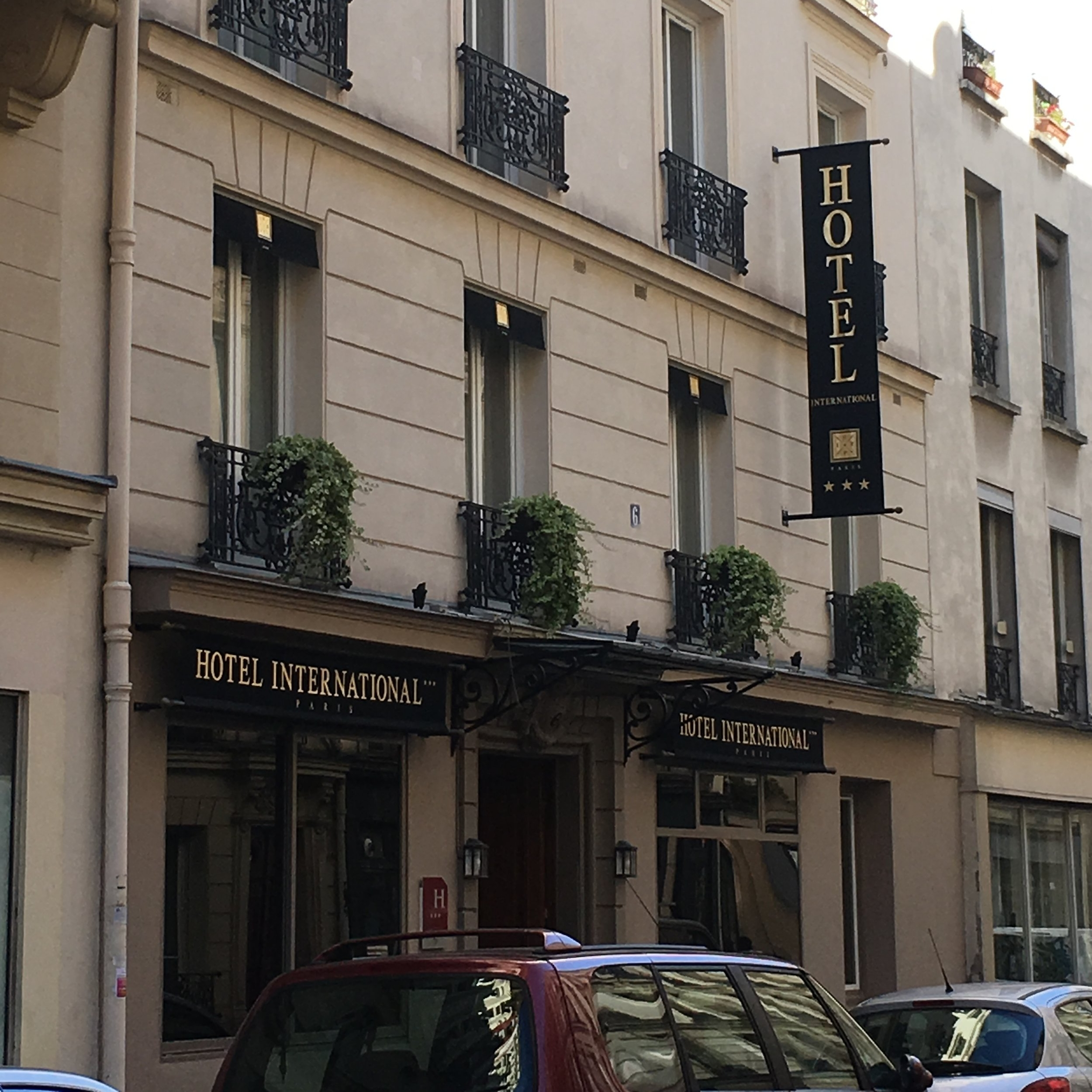 Hotel International, Paris by The Doubtful Traveller