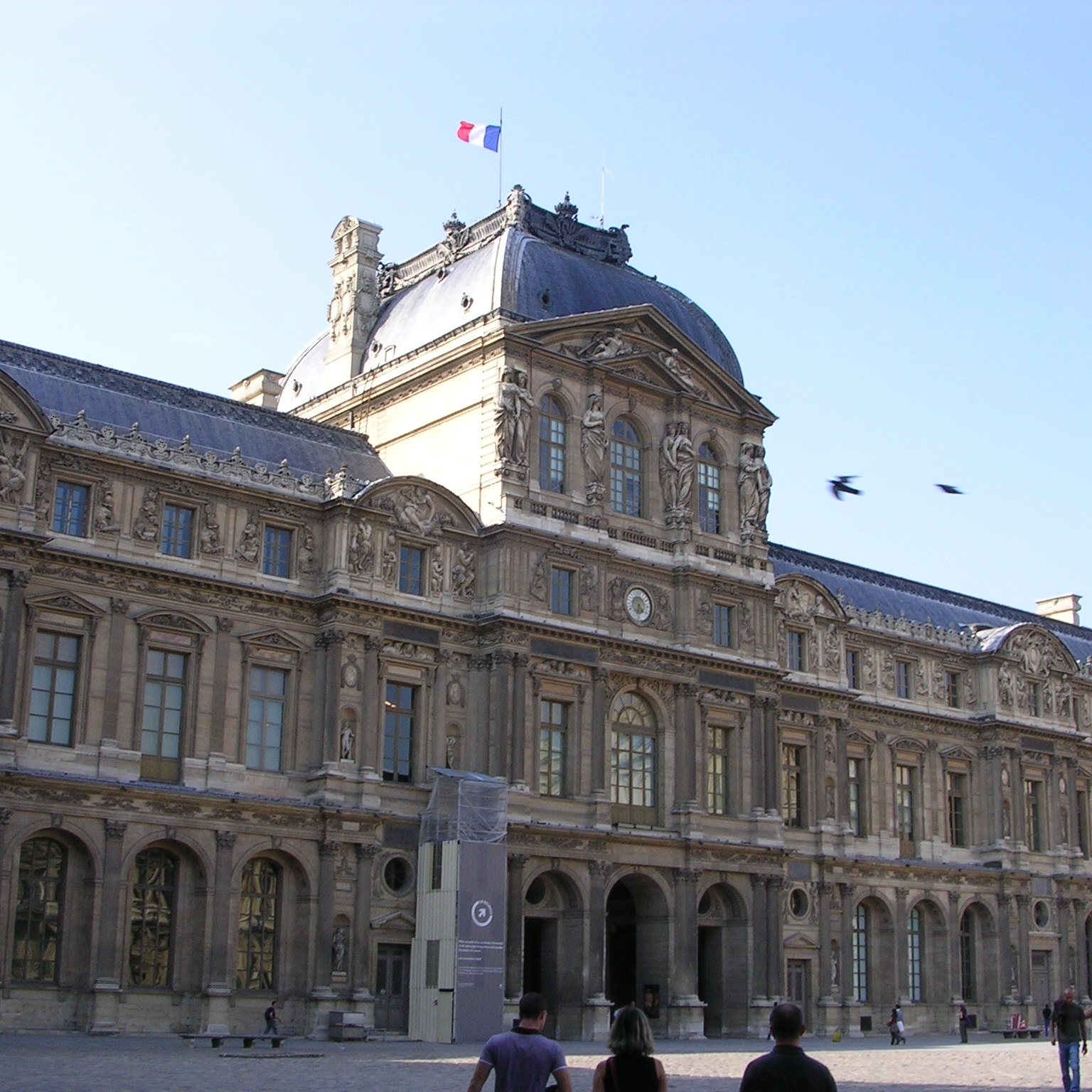 Alternative entrance to the Louvre, Paris by The Doubtful Traveller