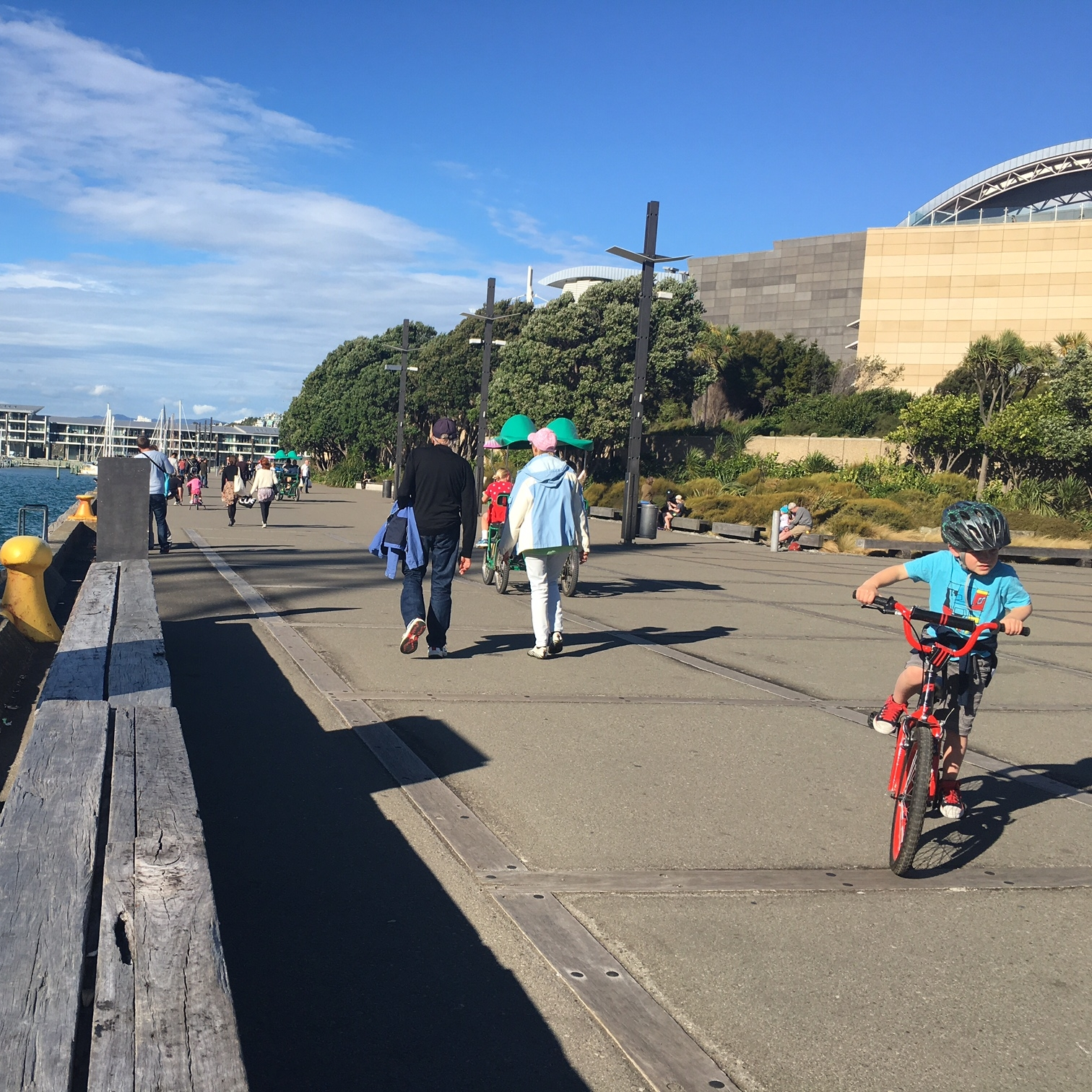 Waterfront and Te Papa museum, Wellington by The Doubtful Traveller