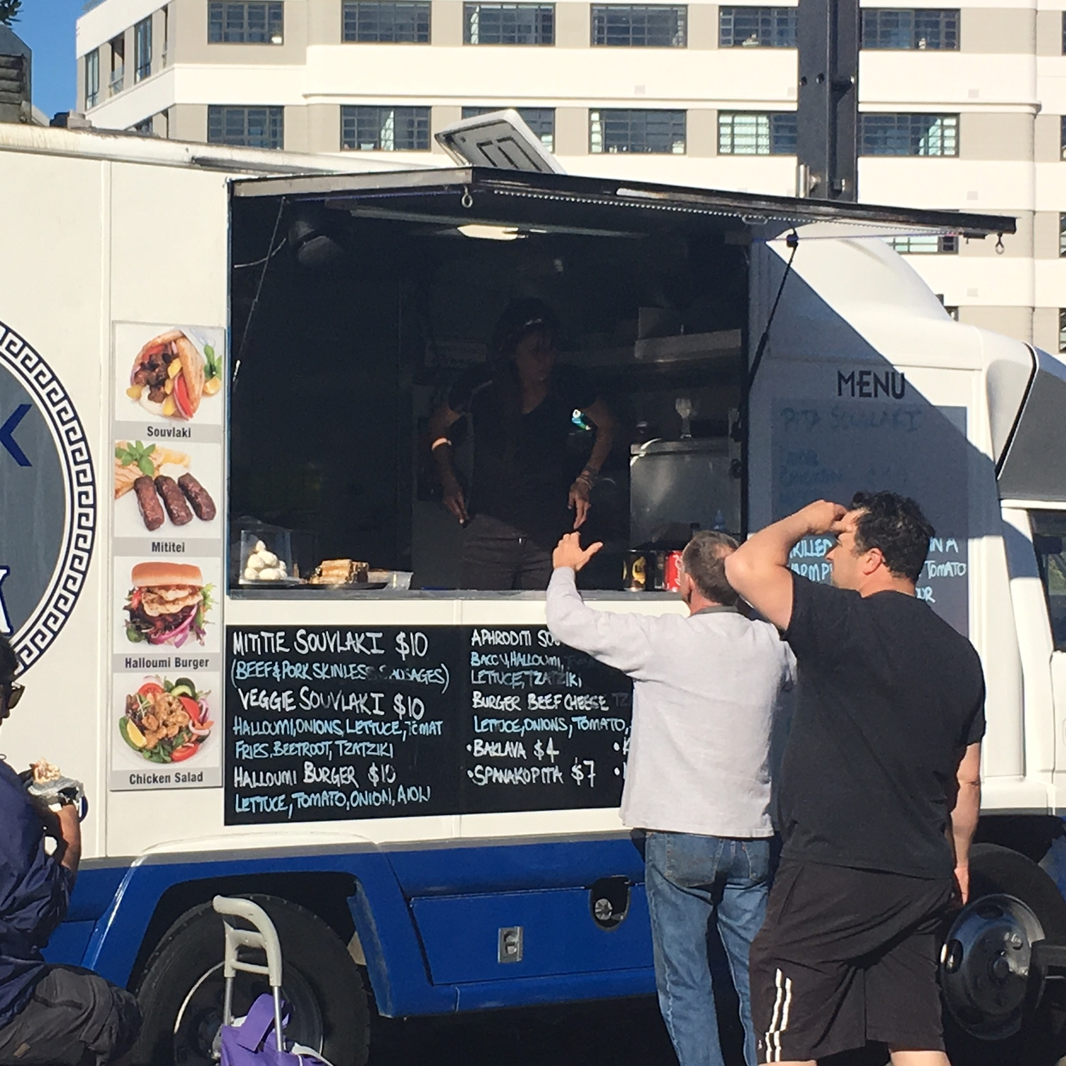 Greek Food Truck, Wellington by The Doubtful Traveller