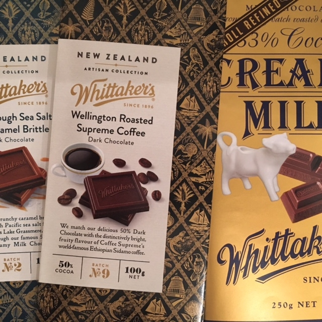 Whittaker's chocolate, Wellington by The Doubtful Traveller