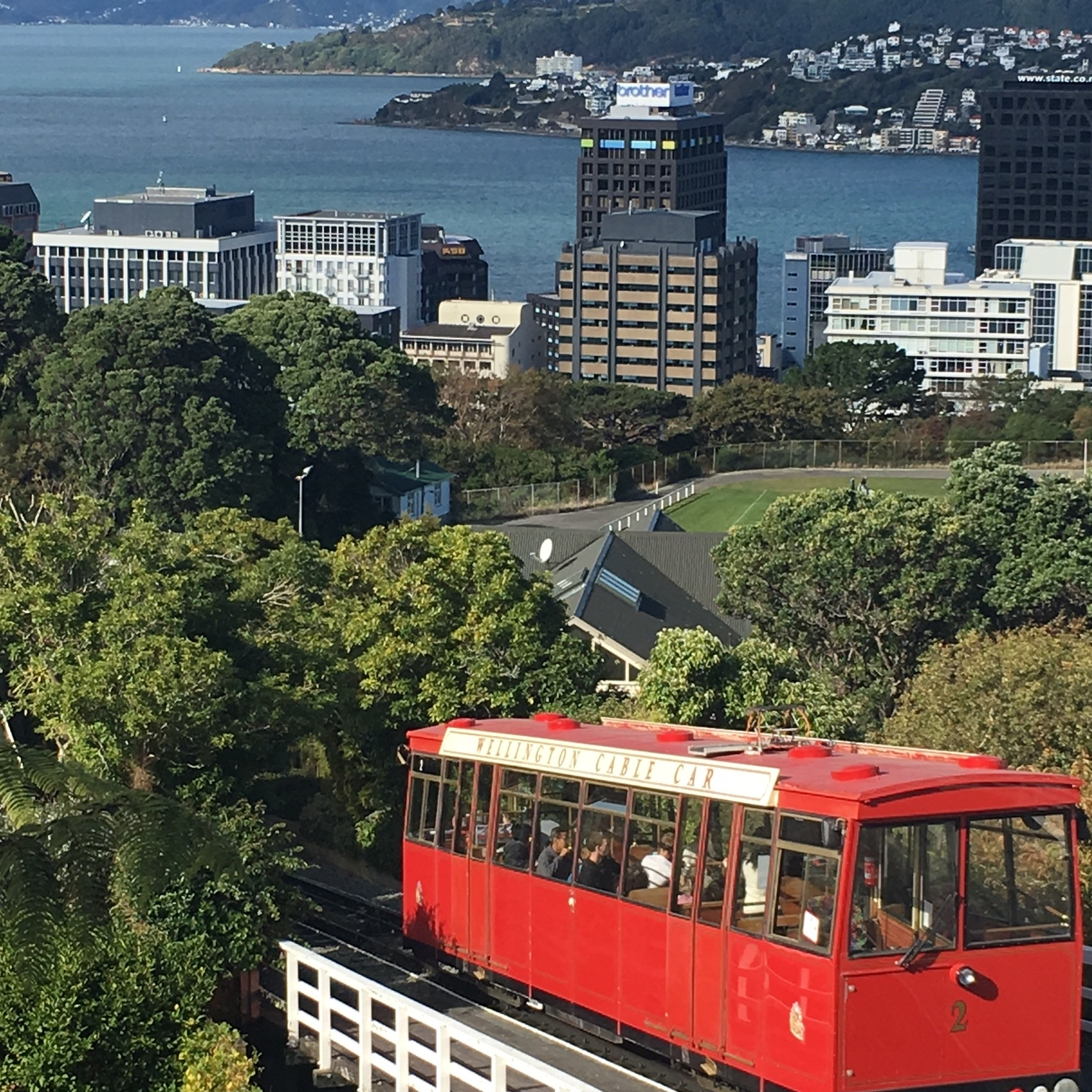 The Cable Car, Wellington by The Doubtful Traveller