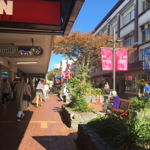 Cuba Mall, Wellington by The Doubtful Traveller