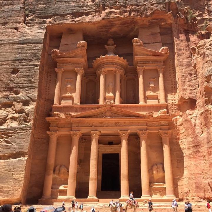 Petra, Jordan by Kevin Nansett for The Doubtful Traveller