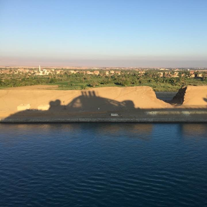 Suez Canal by Kevin Nansett for The Doubtful Traveller