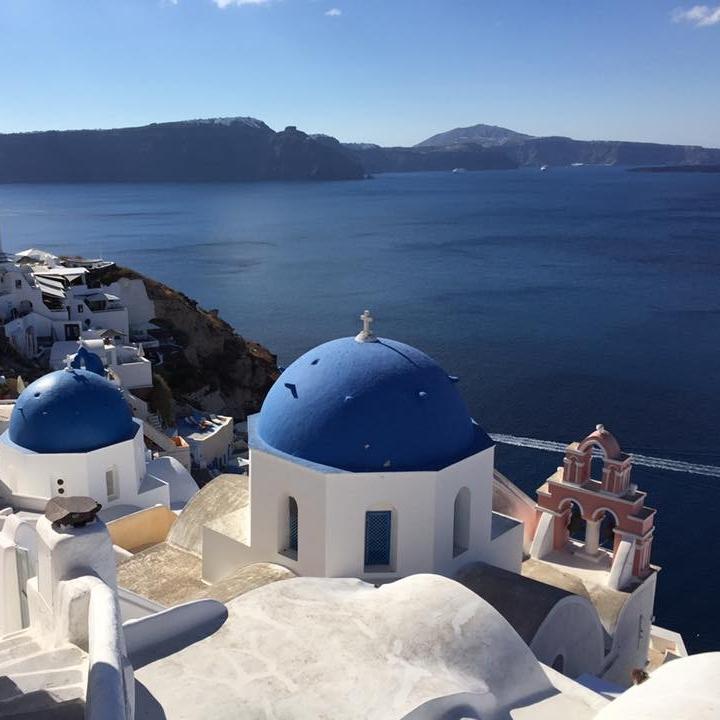 Santorini, Greece by Kevin Nansett for The Doubtful Traveller