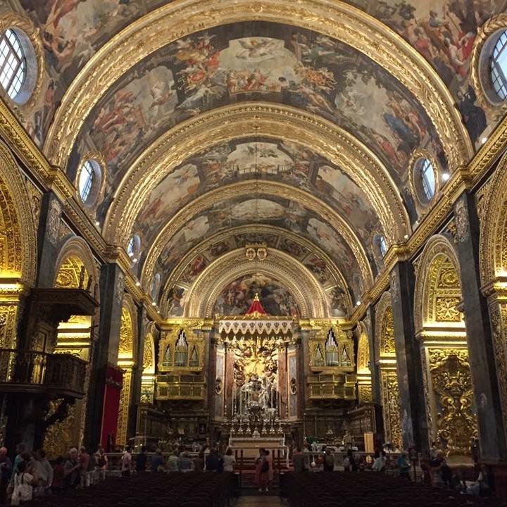 St John's, Valletta, Malta by Kevin Nansett for The Doubtful Traveller