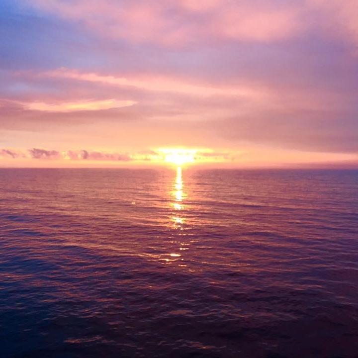 Sunset over Capri by Kevin Nansett for The Doubtful Traveller
